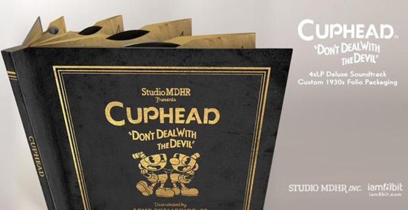 Cover - Cuphead 4xLP Deluxe Soundtrack
