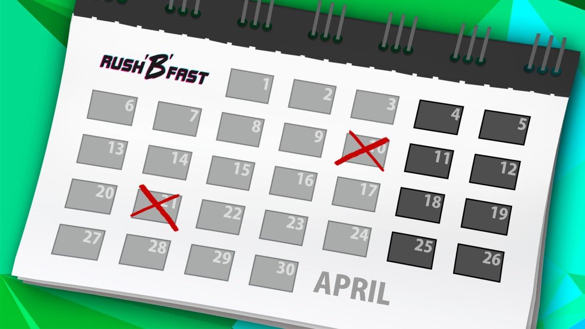 rushBfast - Kalender - April
