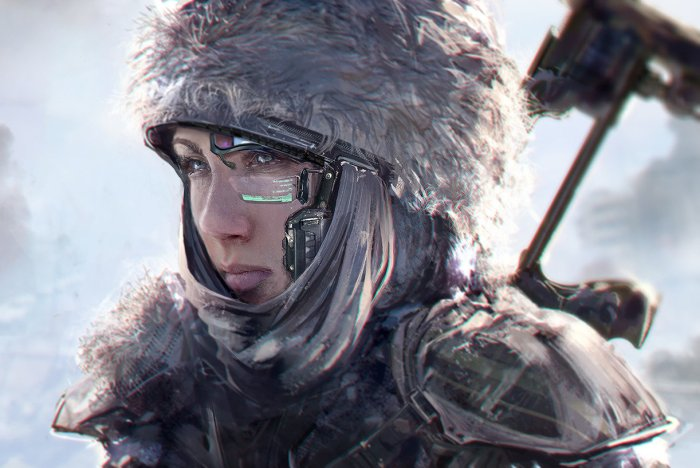 "Quelle: ArtStation - Klaus Wittmann ""speedpaint based on a photo"""