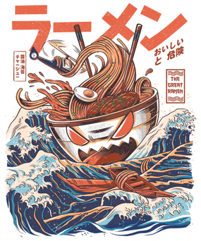 GREAT RAMEN OFF KANAGAWA by ilustrata