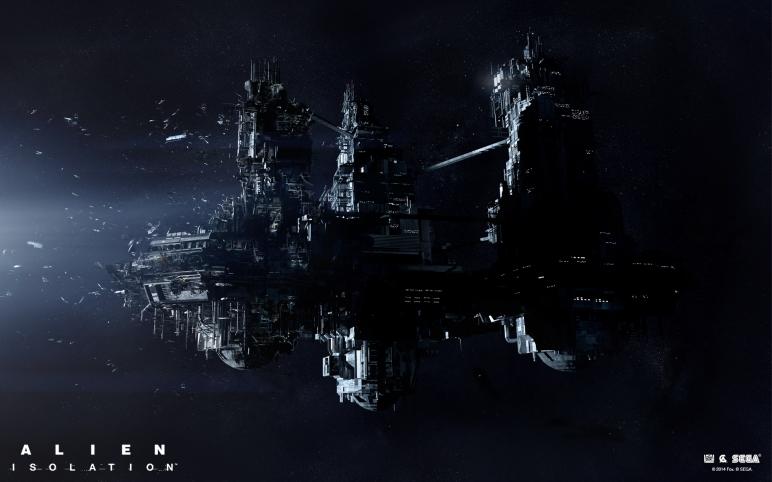 "Brad Wright ""Alien Isolation concept"""