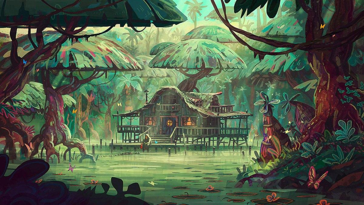 "Arthus Pilorget ""Mangrove Swamp"""