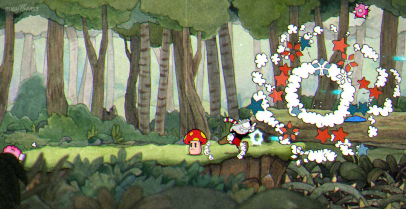 """Cuphead """"Don't deal with the Devil"""" - Forest Follies"""
