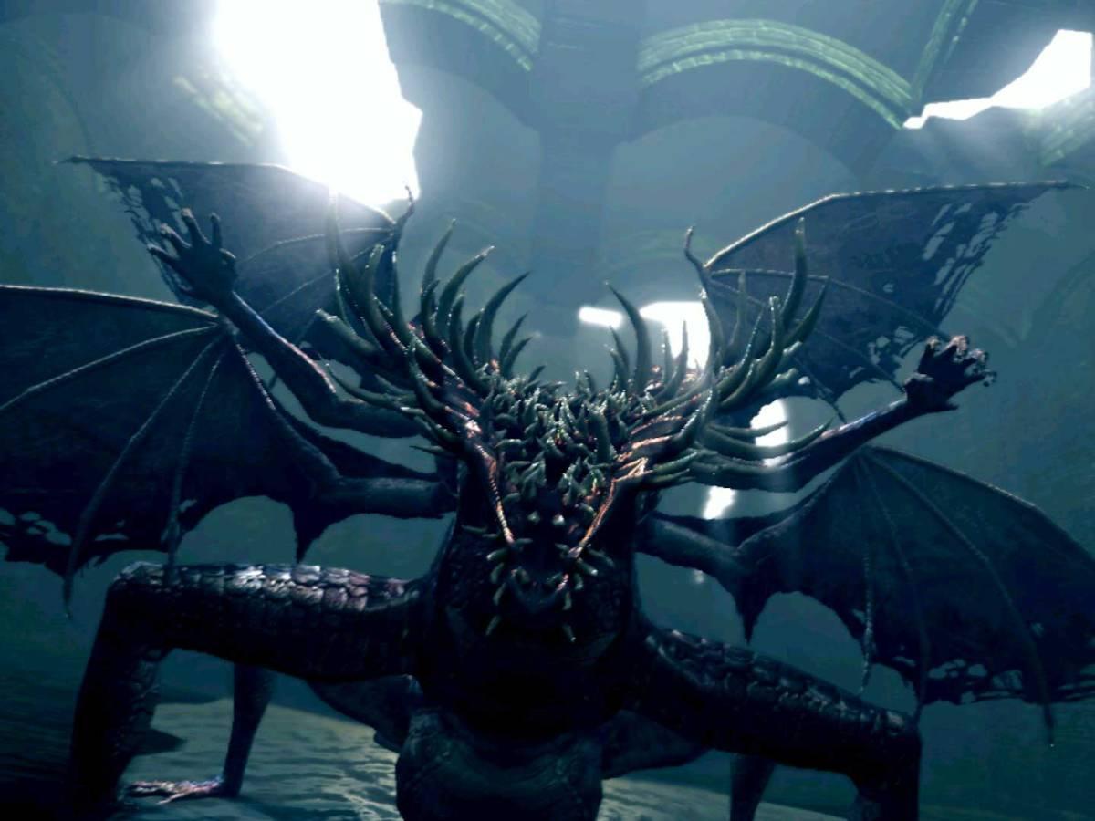 Dark Souls: Prepare To Die Edition - Klaffdrache/Gaping Dragon
