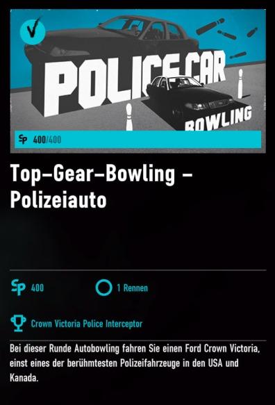 Forza Motorsport 7 - Auto-Bowling