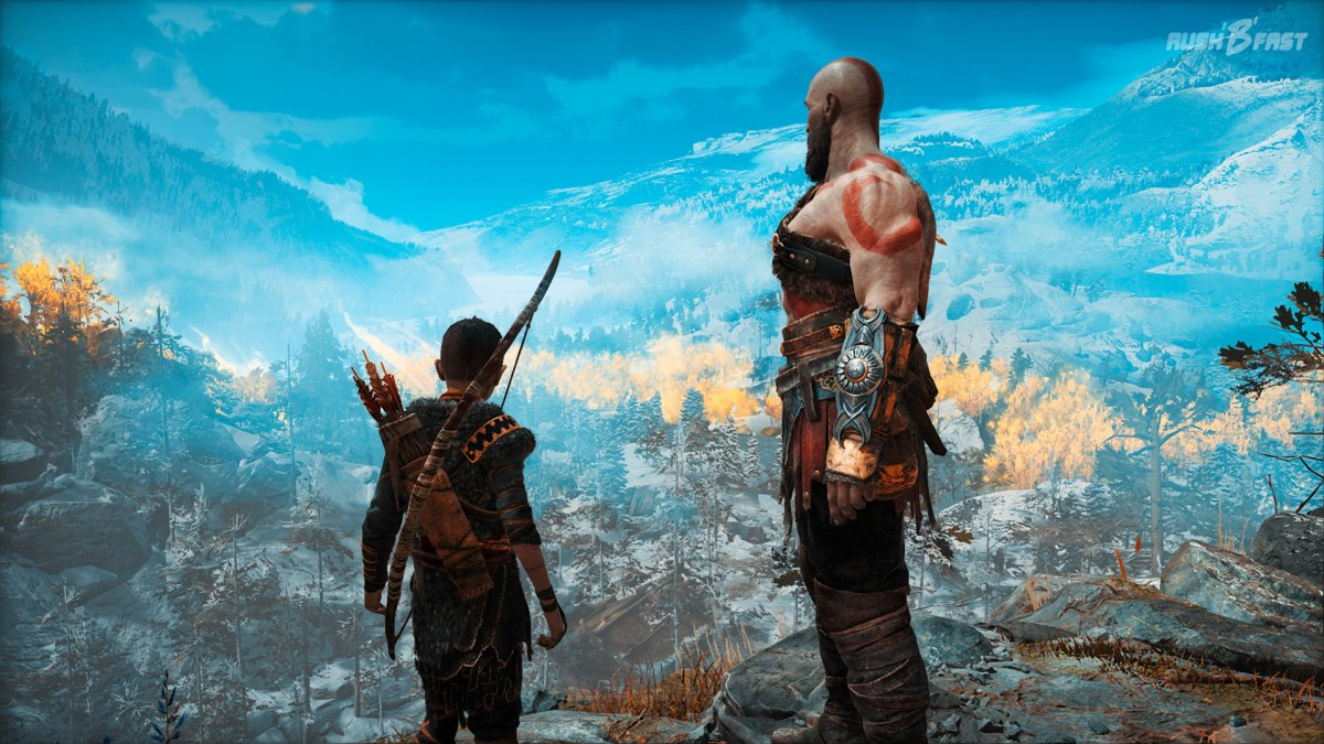 God of War (2018) - Kratos und Atreus