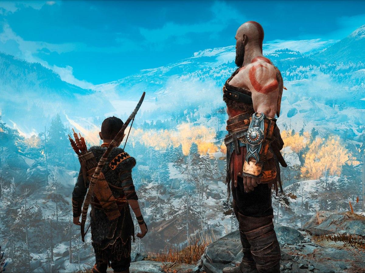 God of War (2018) - Kratos und Atreus