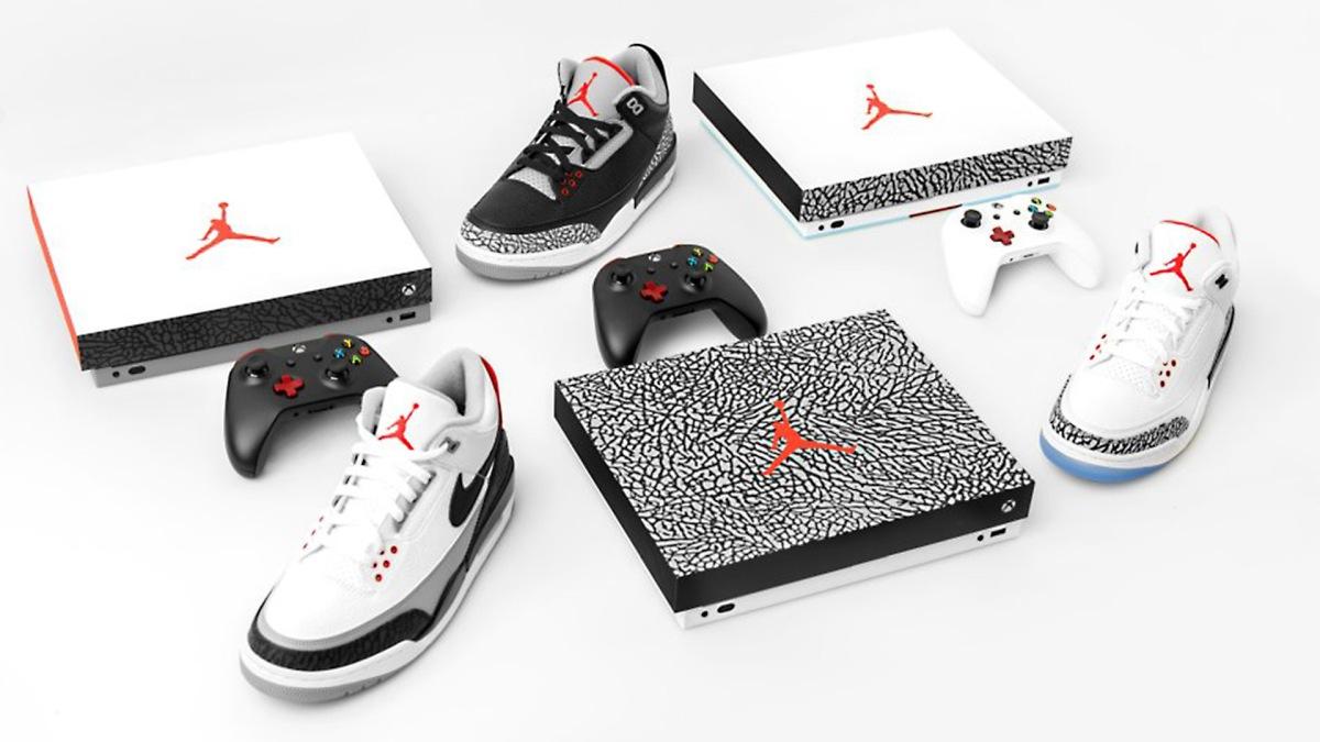 Quelle: xbox.com - Xbox One X und Air Jordan Gewinnspiel