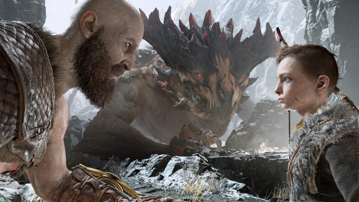 God of War - Kratos und Atreus
