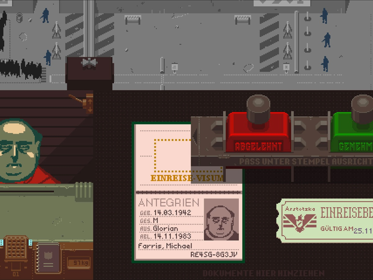 Papers, Please - Grenzposten