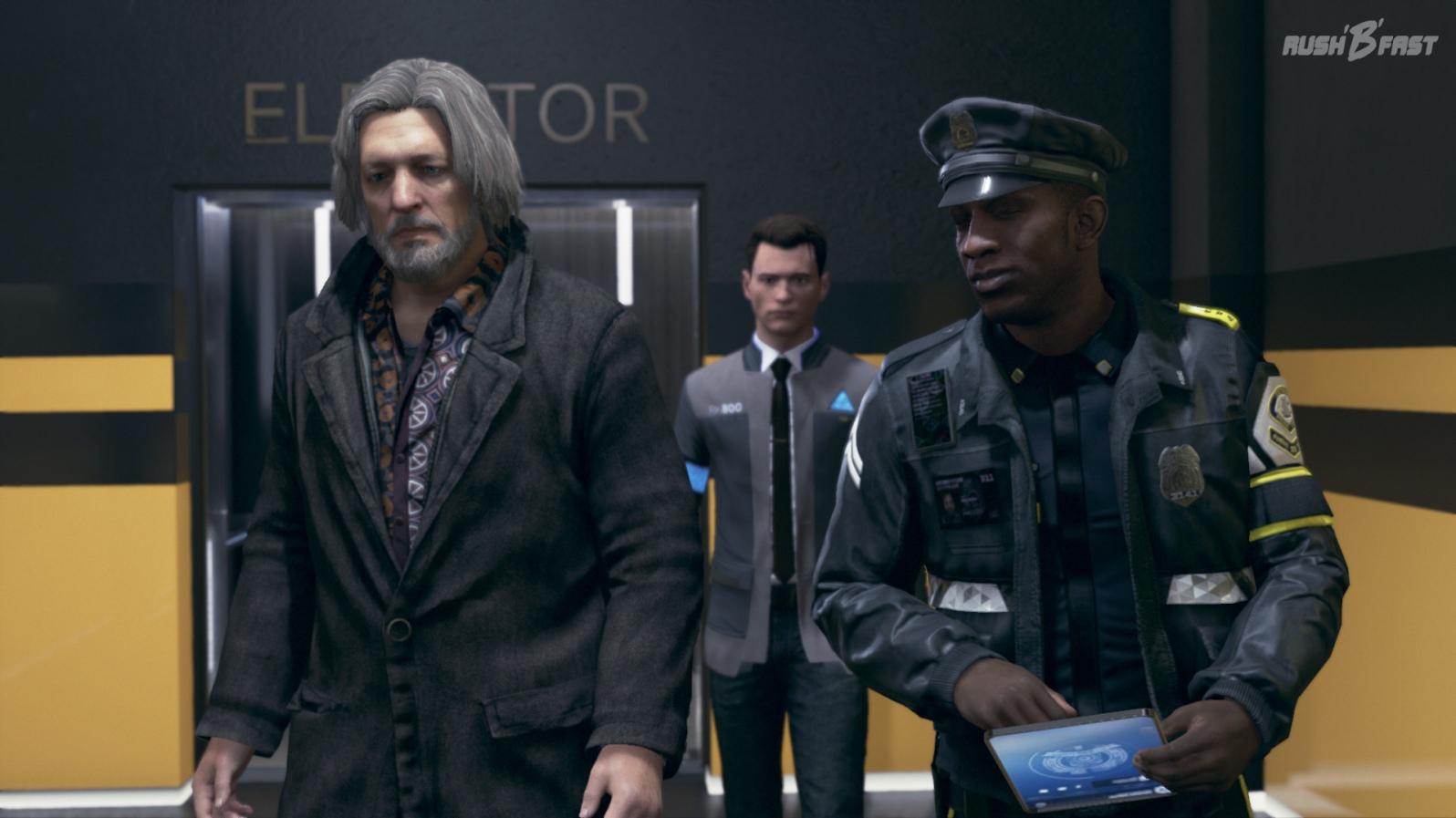 """Connor und der """"Dude""""."""