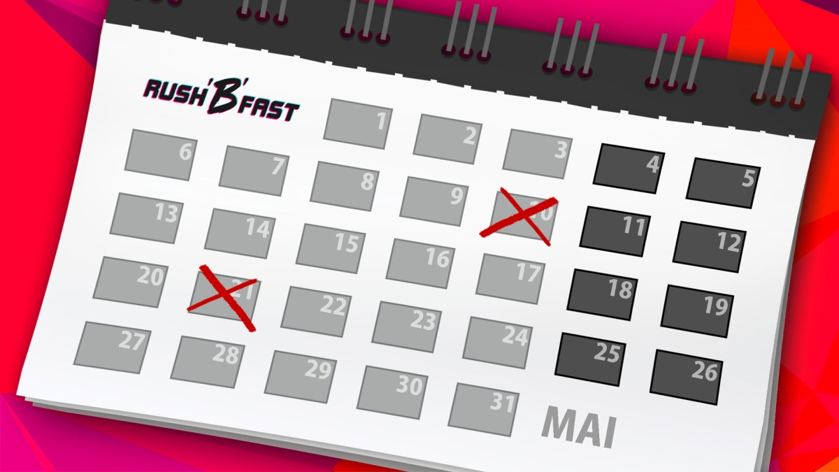 rushBfast - Kalender - Mai