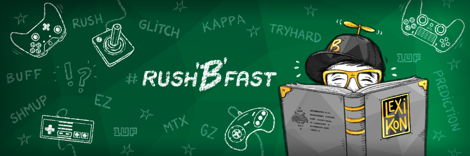 rushBfast – Nerdlexikon Artwork, Illustration: oasentier