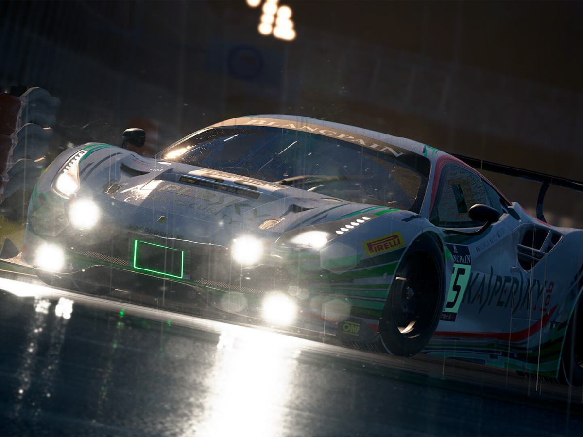 Assetto Corsa Competitione - Regenrennen