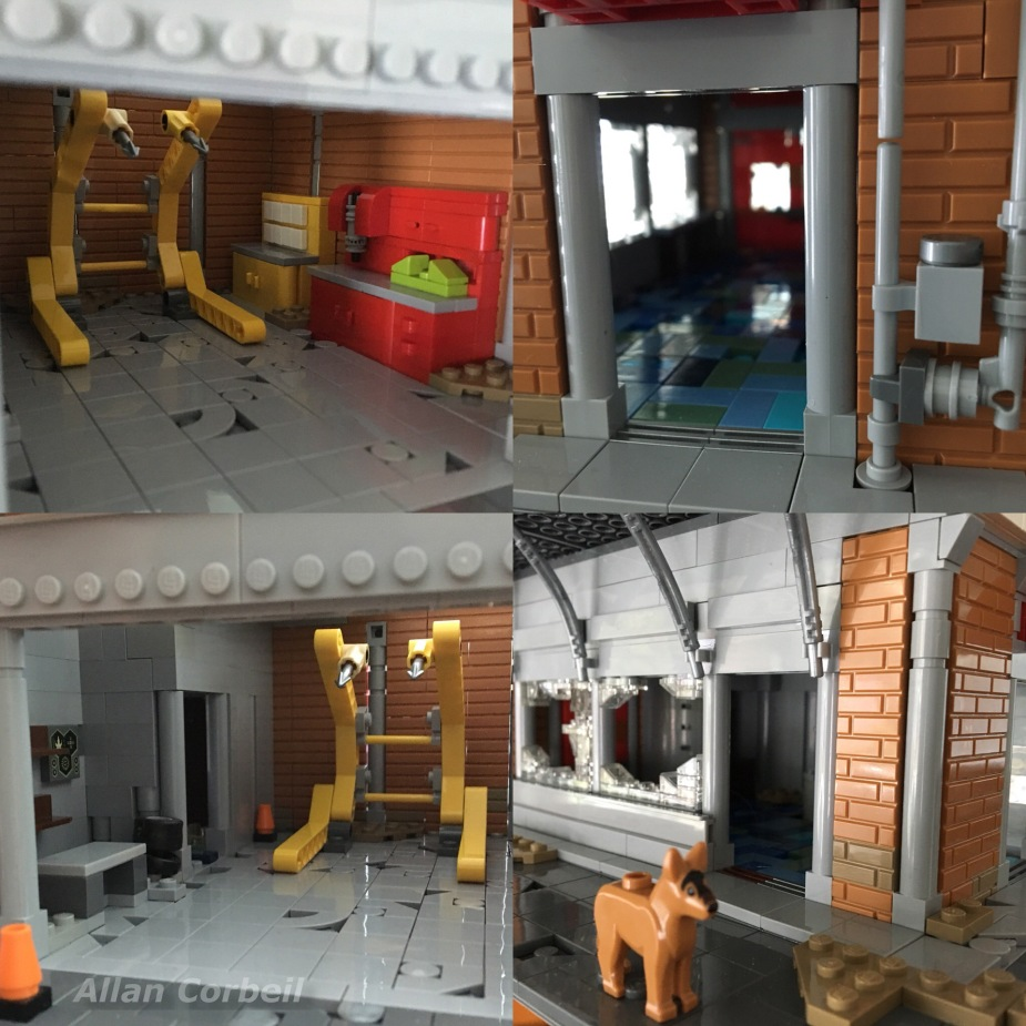 Allan Corbeil - Fallout 4 - LEGO Red Rocket Tankstelle - Details