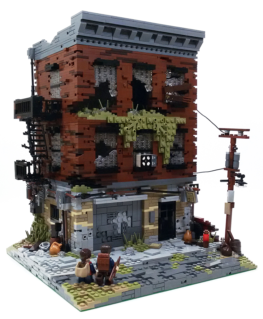 Quelle: flikr/Christophe - LEGO: The Last of Us - Verlassenes Nebengebäude