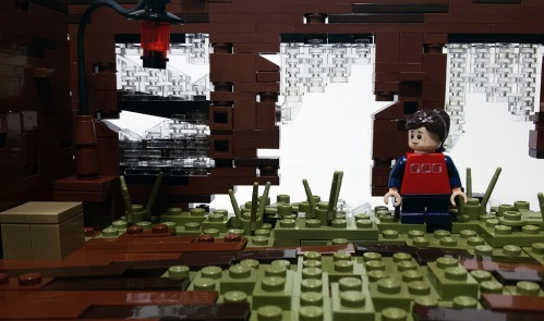 Quelle: flikr/Christophe - LEGO: The Last of Us - Nebengebäude (innenansicht)