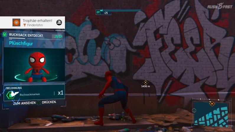 Sammlerstücke: In Peter Parkers zurück gelassenen Rucksäcken verstecken sich allerhand Hinweise auf sein Leben als Spiderman.