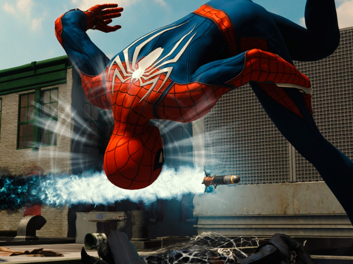 Marvel's-Spider-Man - Spideys Spinnensinn wart vor Raketen