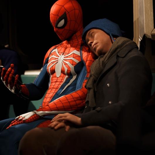 Marvel's Spider-Man Schnellreisesequenz