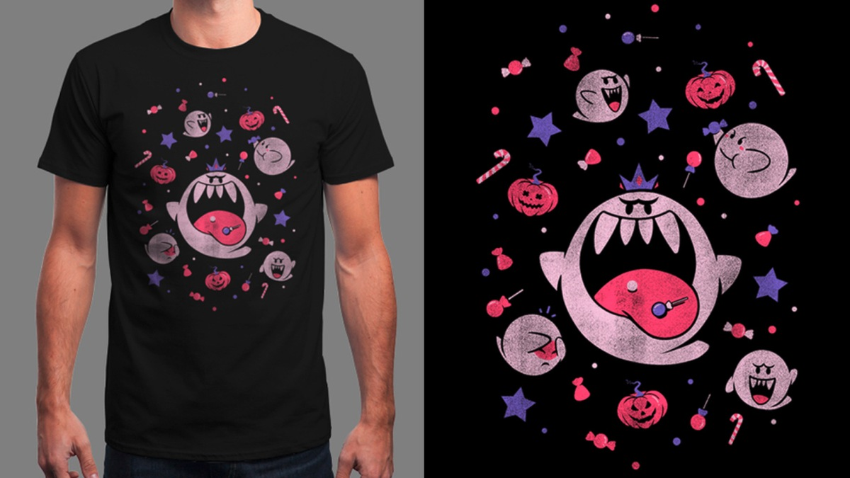 Quelle: Qwertee - NO TRICKS JUST TREATS by ilustrata