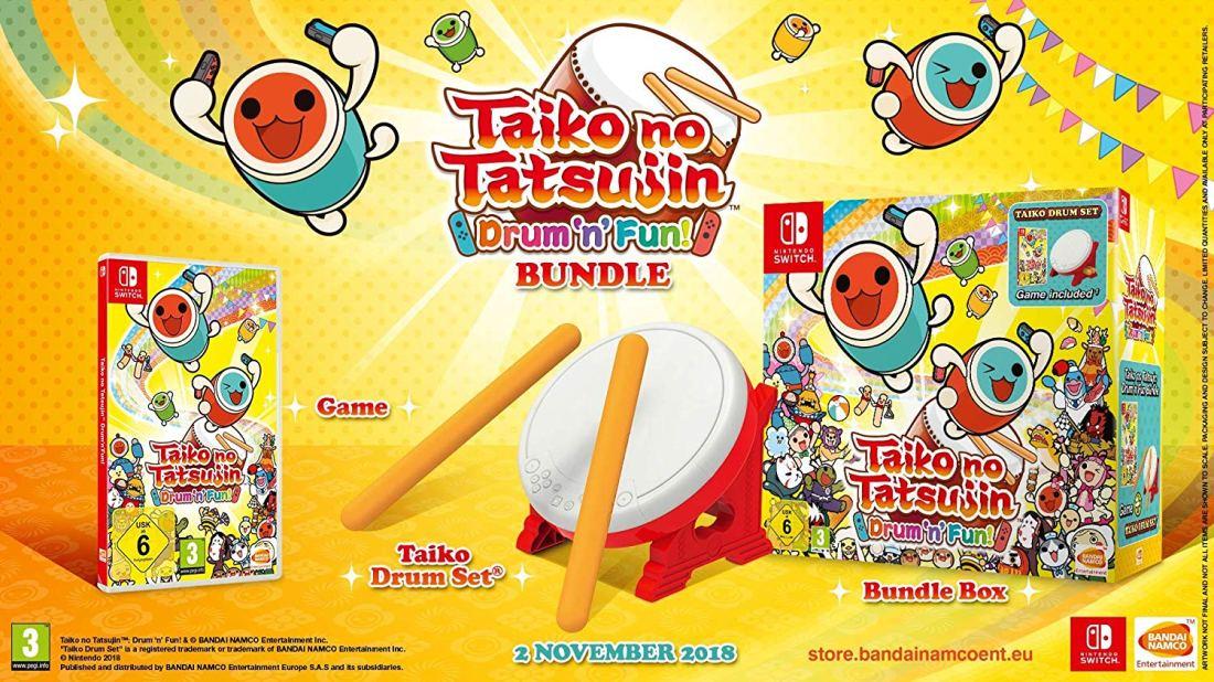 Taiko no Tatsujin: Drum 'n' Fun! - Bundle inkl. Trommel