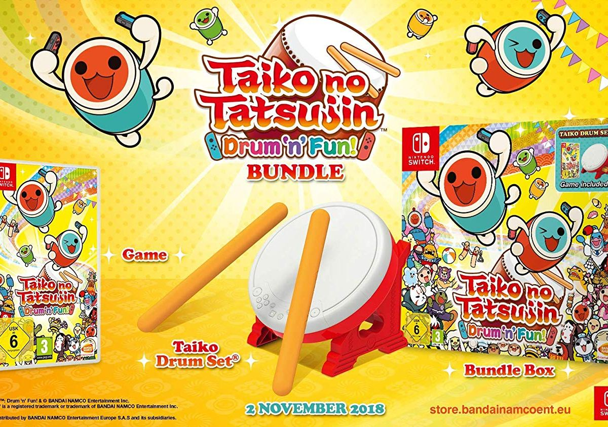 Taiko no Tatsujin: Drum 'n' Fun! - Bundle inkl. Trommel