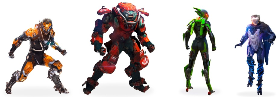 Anthem Klassen - Ranger, Colossus, Interceptor, Storm
