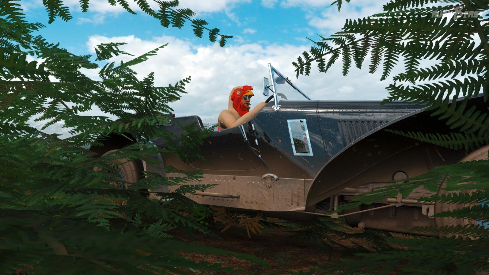 Forza Horizon 4 - Chicken Outfit und Bentley Blower