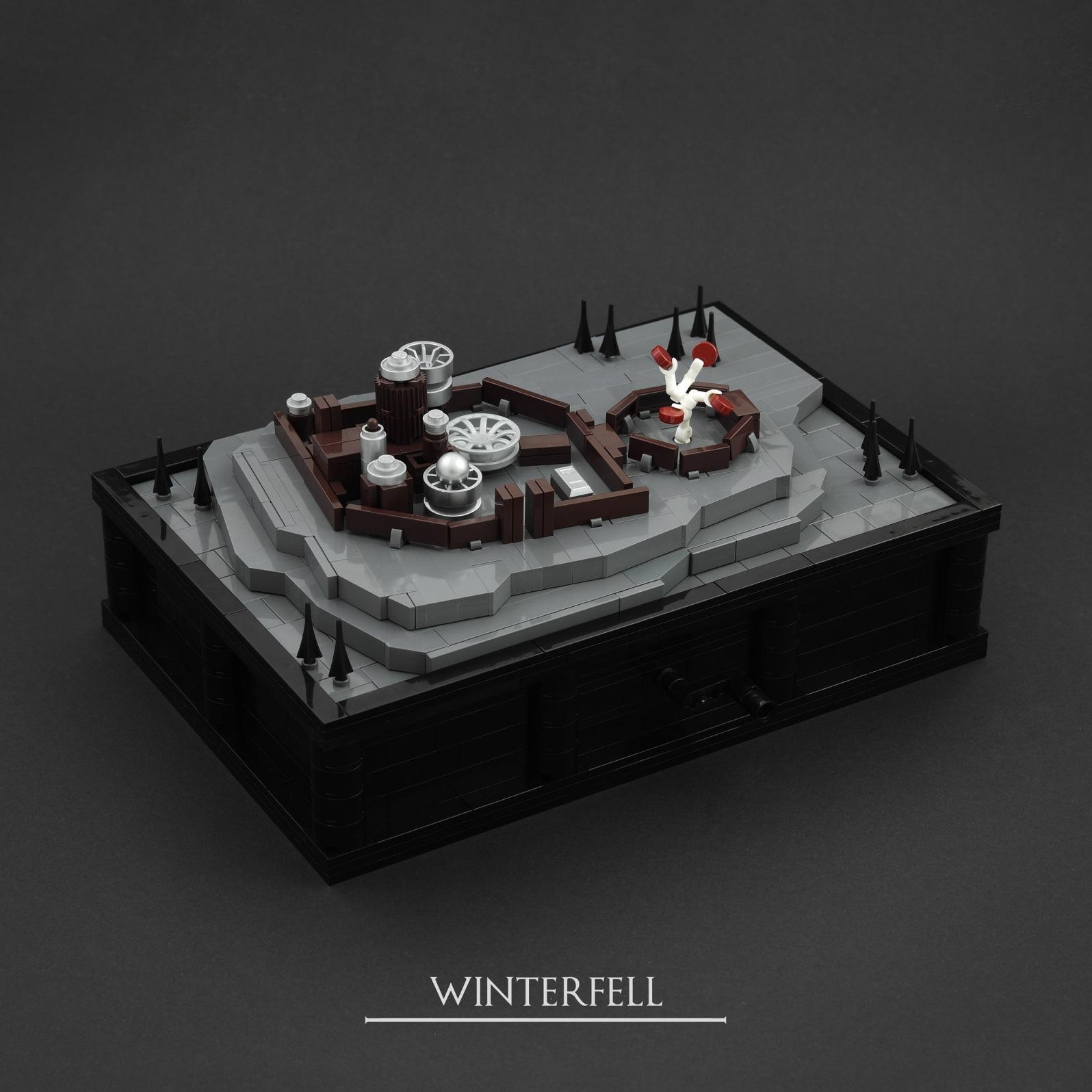 Jonas Kramm - LEGO: GoT - Winterfell