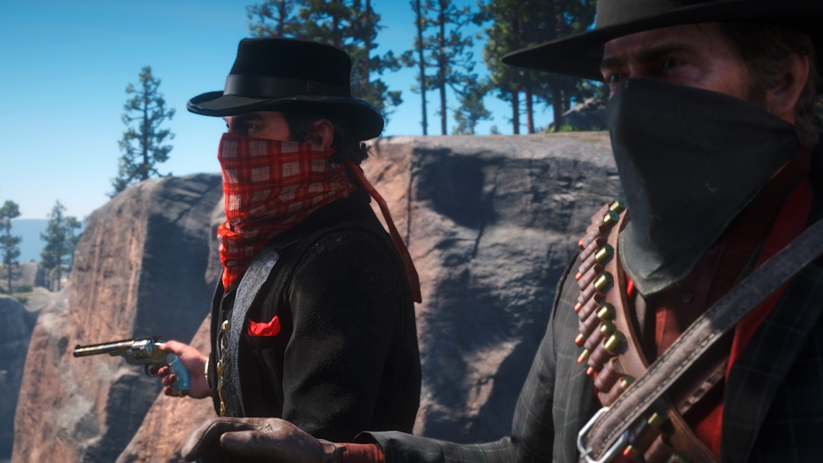 Red Dead Redemption 2 - Arthur Morgan und Dutch van der Linde