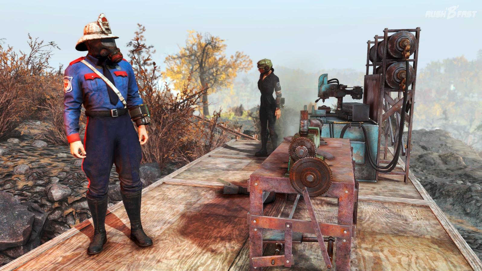Fallout 76 - Mein C.A.M.P - Basisbau - Werkbank