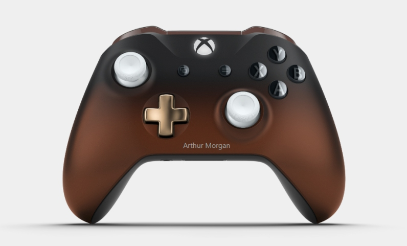Xbox Design Lab - Red Dead Redemption 2 Design - Vorderseite