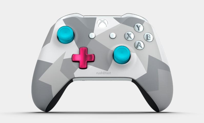 Xbox Design Lab - rush'B'fast - Vorderseite