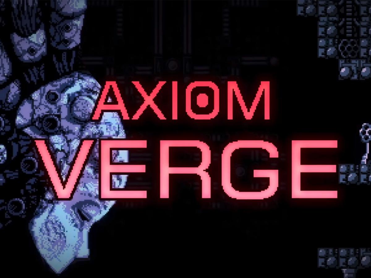 Quelle: axiomverge.com - Axiom Verge - Artwork