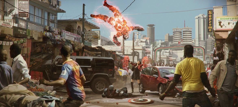 Quelle: okonart.com - Marek Okon - Captain America : Civil War - Nairobi