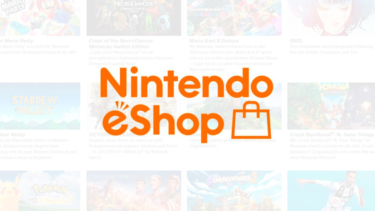 Quelle: Nintendo - eShop Charts