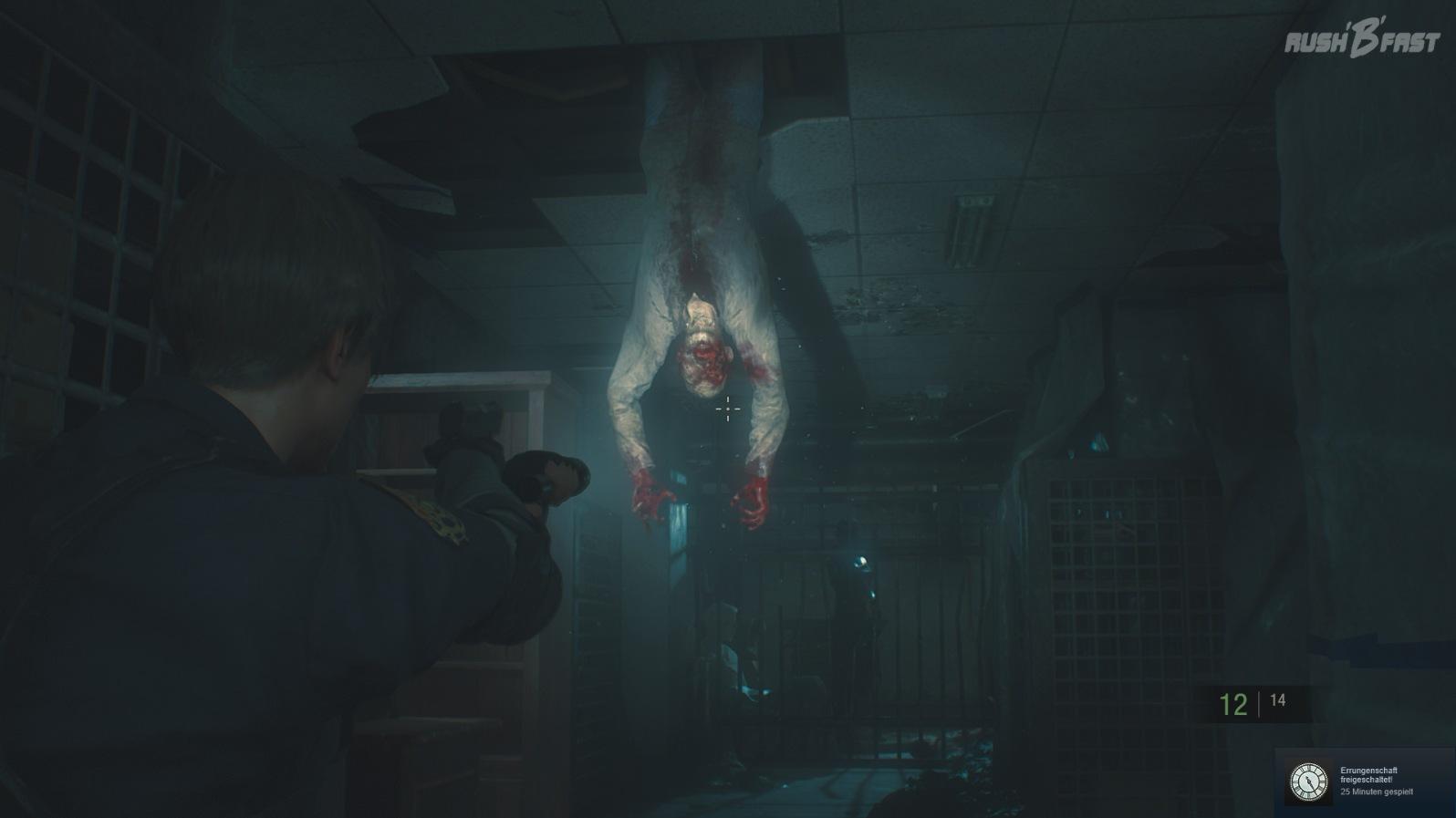 Resident Evil 2 - Nicht hängen lassen: Die zeitlich begrenzte Demo bietet noch 5 Minuten Spielspaß.