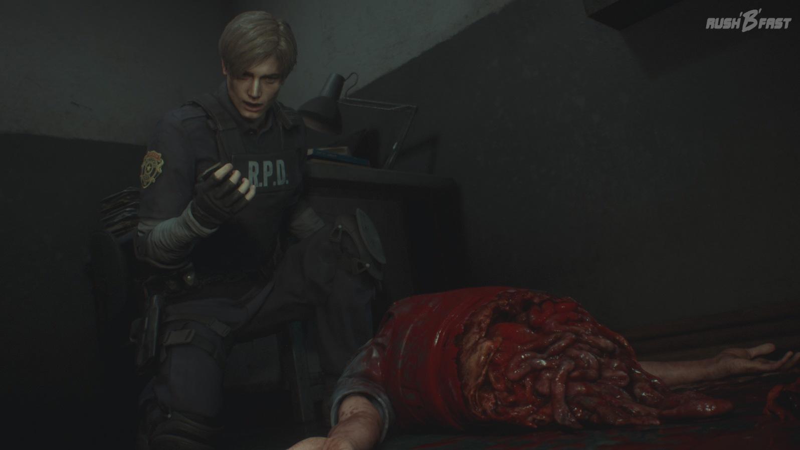 Resident Evil 2 - Gewohnt guter Splatter