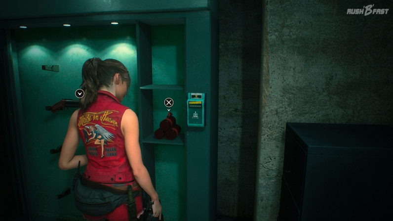 Resident Evil 2 - Claire Kampagne (alternatives Outfit) - Granatwerfer GM76