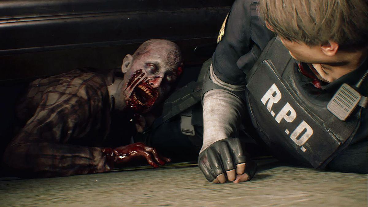 Quelle: Capcom - Resident Evil 2 (Remake) - Leon entkommt Zombie