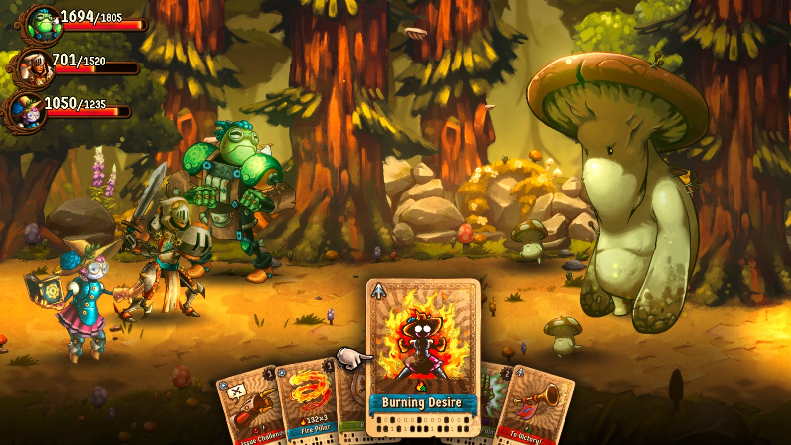 Quelle: imageform.se - SteamWorld Quest - Pilz