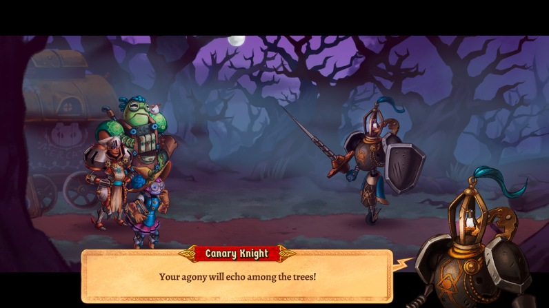Quelle: imageform.se - SteamWorld Quest - Vogelritter