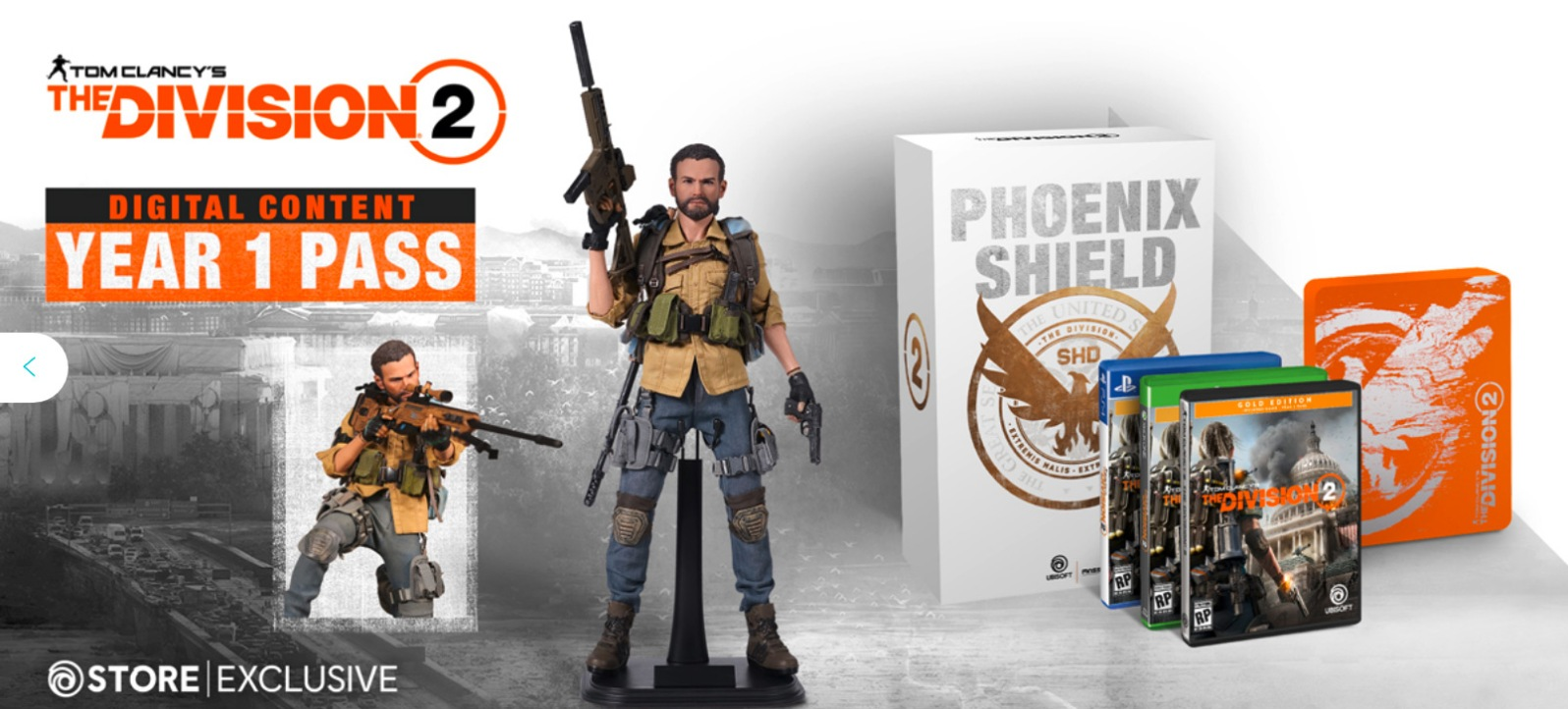 Quelle: blog.ubi.com - Tom Clancy's The Division 2 - Versionen