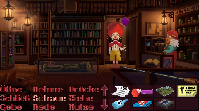 Quelle: thimbleweedpark.com - Clown