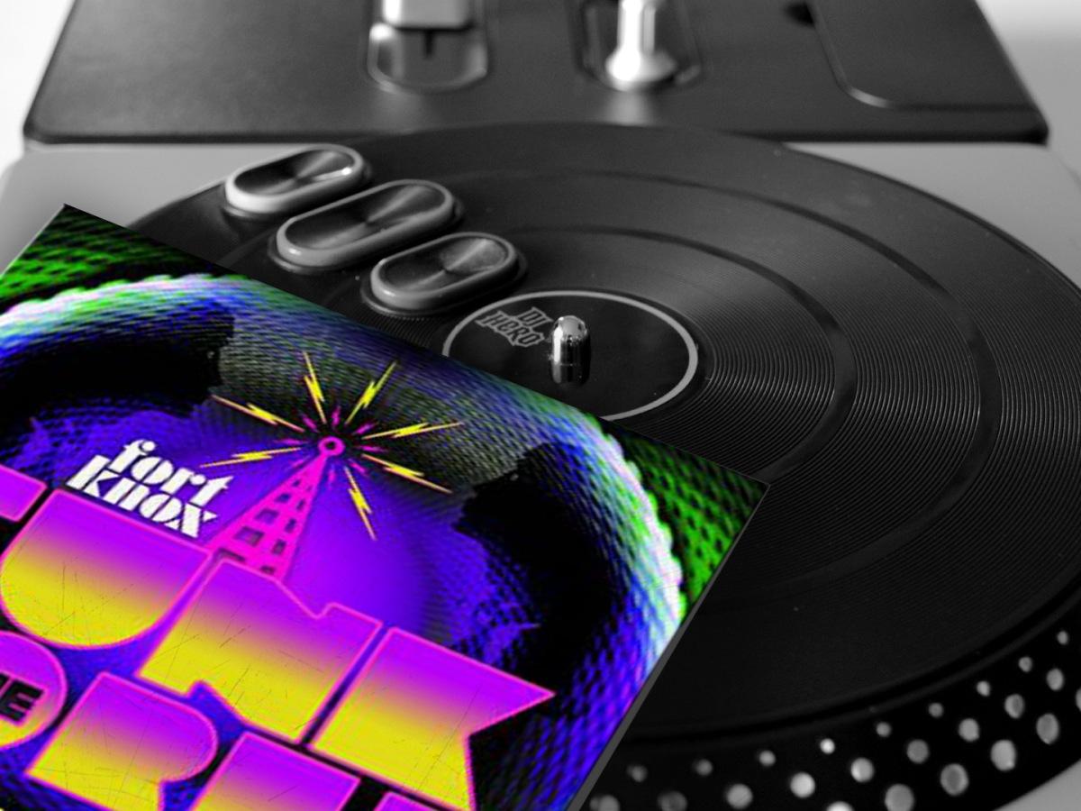 Foto: rush'B'fast, Plattencover: Fort Knox Recordings/mixcloud