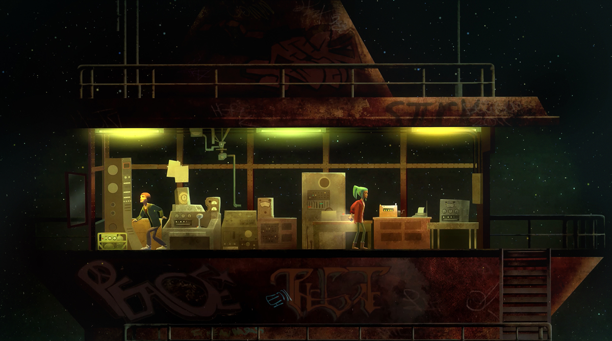 Quelle: nightschoolstudio.com - Oxenfree - Nacht