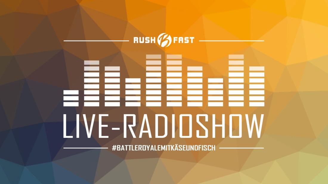 rush'B'fast - Gamers Lifestyle - Radioshow bei ZuSa - 30/03/2019