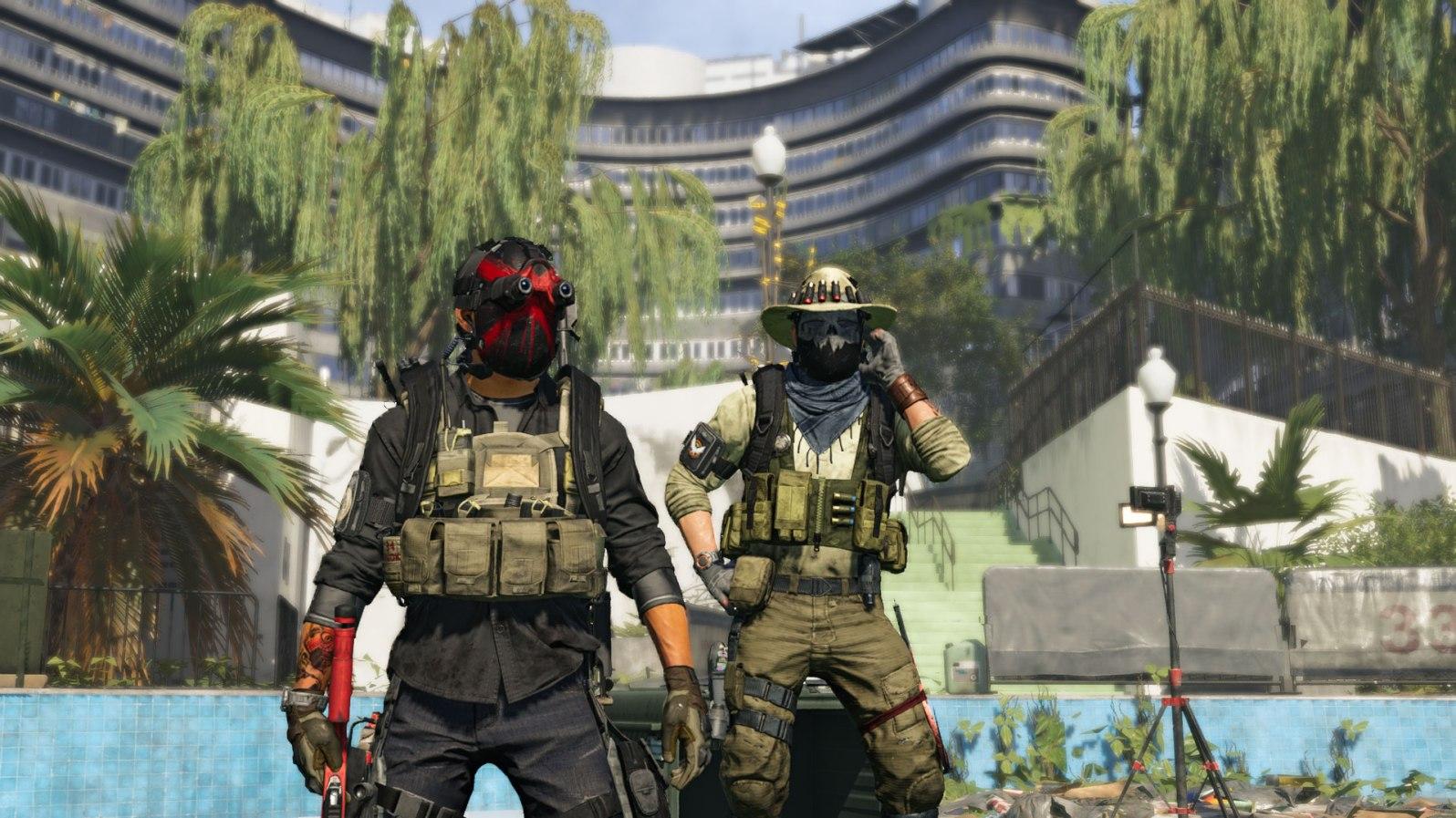 Tom Clancy's The Division 2 - Maskenparade: Es sind mehrere sogenannte Hunter im Spiel versteckt, die nur durch eine Abfolge von bestimmten Voraussetzungen erscheinen. Sind wir siegreich, erhalten wir deren Masken, die wir ausstellen und sogar selber tragen können.
