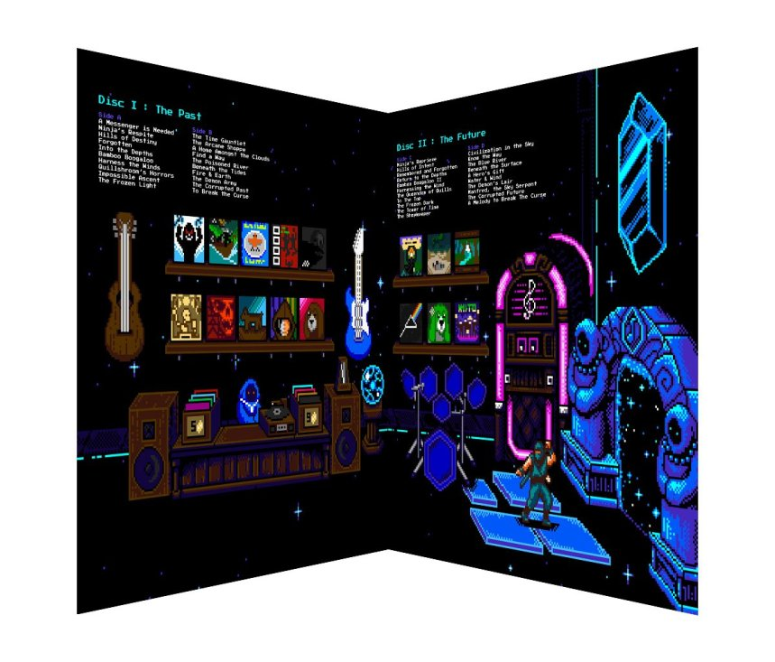 Quelle: store.iam8bit.com - The Messenger - LP Innenseiten